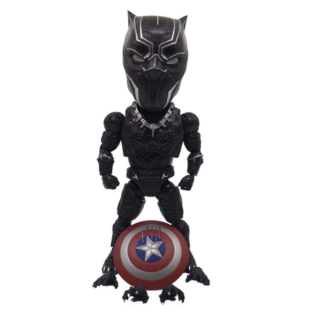 entrega gratis WSWJJXB WSWJJXB WSWJJXB Versión Avengers 3 Q del Modelo de Mano de Pantera Negra Souvenir colección Manualidades  los nuevos estilos calientes