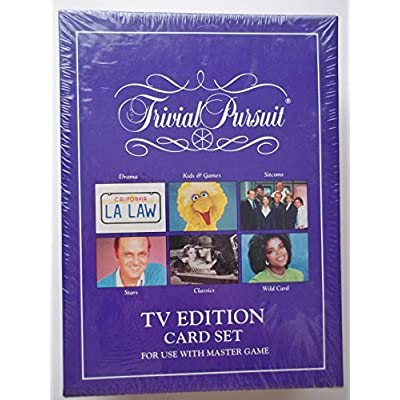 Trivial Pursuit TV Edition Card Set: Toys & Games