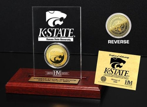 NCAA Kansas State Wildcats Etched Acrylic Coin, 9