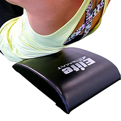 Quality Ab Mat Sit Up Pad with BONUS Resistance Band - Buyer Reviews tell us its Very Comfortable, Fantastic Lower Back Support and Made to Last