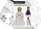 "Pattern for Civil War Period - fits 18"" American Girl Dolls"