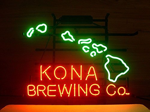 New Kona Brewing real neon glass tube neon sign 18''x14'' k50