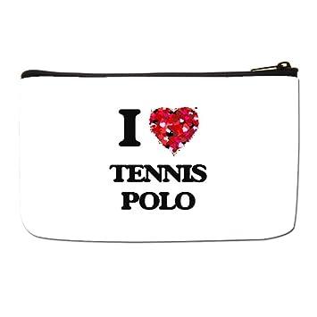 8ae496c9ce1c Amazon.com : Lgtbg Cosmetic Organizer I Love Tennis Travel Makeup ...