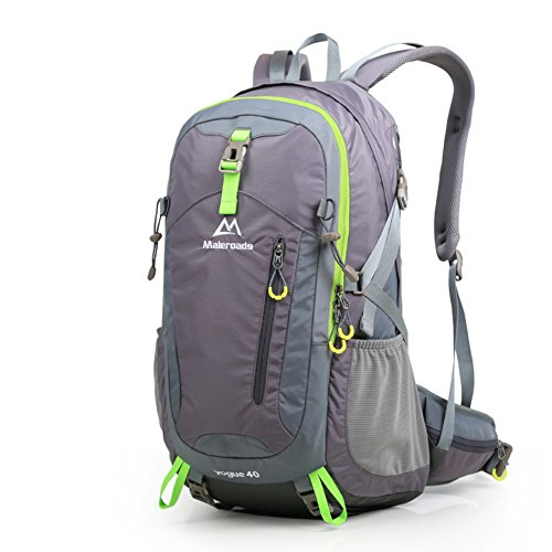 Im Freienberg Taschen/Rucksack/Wandern leichte Reisetaschen/Outdoor-Rucksack-grau 40L