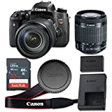 Canon EOS Rebel T6s 24.2 MP CMOS Digital SLR Camera with 3.0-Inch LCD with EF-S 18-55mm f/3.5-5.6 IS STM Lens - Wi-Fi Enabled (Certified Refurbished)