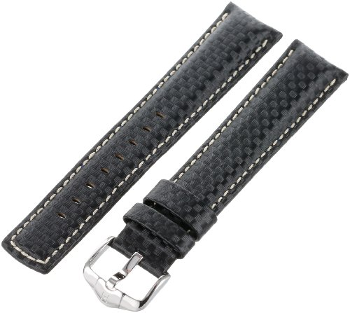 Hirsch 025922-50-22 22 -mm  Genuine Calfskin Watch Strap