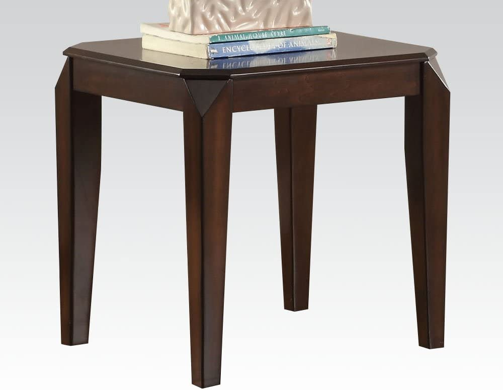 ACME Furniture Acme 80662 Docila End Table, Walnut