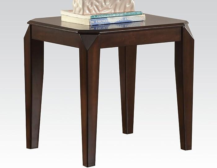 ACME Furniture Acme 80662 Docila End Table, Walnut