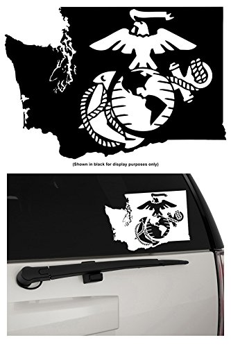 Wall Decal Marine Corps Military War Decor Soldier Vinyl Stickers Mural  Unique Gift (ig2607)