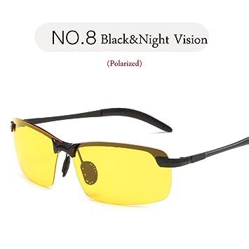 CCGSDJ Gafas De Sol Polarizadas para Exteriores para Hombres ...