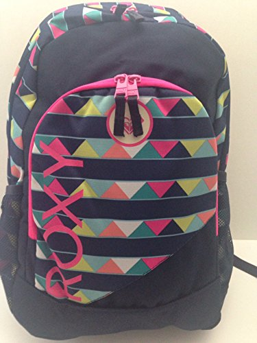roxy-deluxe-laptop-daypack-backpack-navy-multi-colored-pyramid-stripes