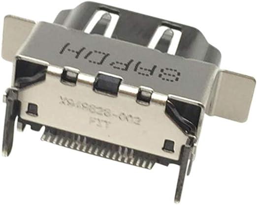 Goyajun 1080P 2.1 HDMI Port Socket Repuesto para Microsoft Xbox ...