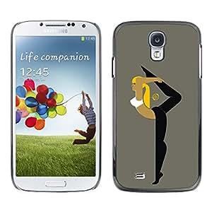 Be Good Phone Accessory // Dura Cáscara cubierta Protectora Caso Carcasa Funda de Protección para Samsung Galaxy S4 I9500 // Flexible Woman