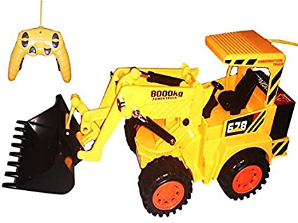 Buy Spartanz Wireless Rechargeable Remote Control Excavator Jcb Toy