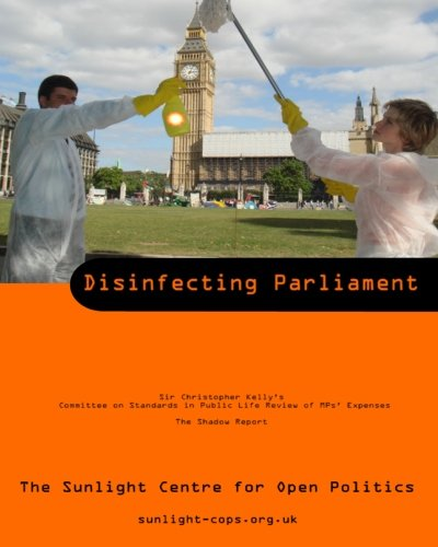 Books : Disinfecting Parliament