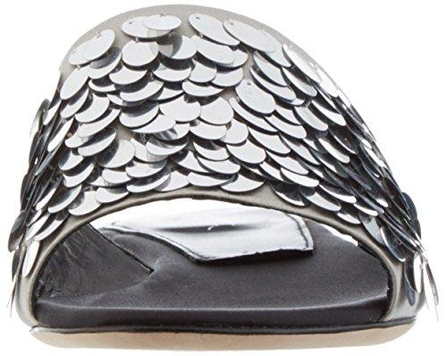 Sebastian S7338 - Zapatillas de casa Mujer plateado (silver)