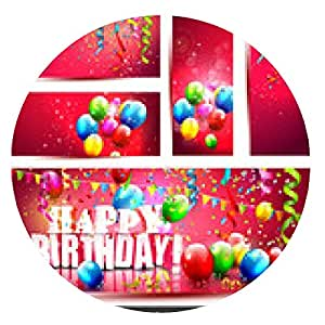 alfombrilla de ratón Gran conjunto - banners de cumpleaños - ronda - 20cm