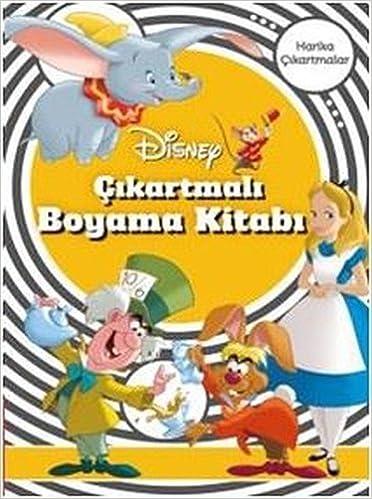 Disney Klasik Cikartmali Boyama 9786050946222 Amazoncom Books