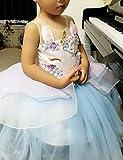 TTYAOVO Kids Unicorn Costume Dress Girl Princess