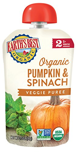 pumpkin and spinach baby food - 5