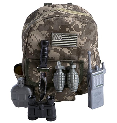 Gear to Go - Army Ranger Adventure Play Set (As Shown;One Size) (Twenties Costume Ideas)