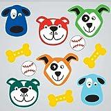 GelGems Cute Pups Large Bag Gel Clings