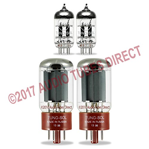 (Tung-Sol Tube Upgrade Kit For Line 6 Spider Valve 112 & 212 Combo Amps w/5881)