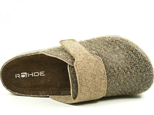 Rohde Riesa H - Zapatillas de casa Hombre Braun