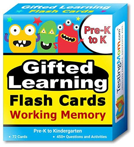 Gifted Learning Flash Cards Bundle - Kindergarten-in-A-Box - Math Concepts, Thinking & Problem Solving, Working Memory, Following Directions (Set 1) by TestingMom.com (Image #6)