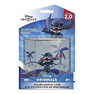 Exclusive Disney Infinity (2.0 Edition) Themed Display Case with Stitch Figure