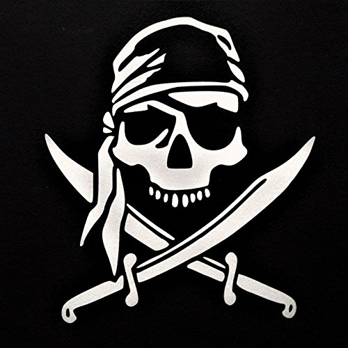 Pirate Decals - Chase Grace Studio Pirate Skull Vinyl