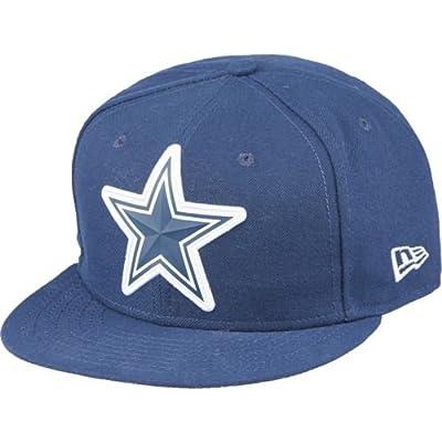 Dallas Cowboys New Era 9FIFTY Bold Bevel Navy Adjustable Snapback Hat / Cap from New Era