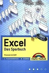Excel - Das Sparbuch - Finanzen im Griff (Office Einzeltitel) von Jens Fleckenstein (2008) Taschenbuch