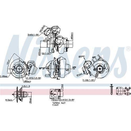 Nissens 93144 Turbo Charger: