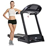 Elever Folding Electric Treadmill Fitness Running Machine APP Control (US STOCK)