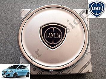 1 Coppetta Tapacubos Lancia Ypsilon Y A partir de 2011 Escudo original trago Tapón Llanta de aleación: Amazon.es: Coche y moto