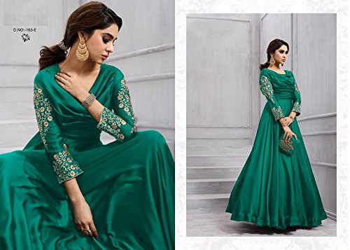 PUNJABI PARTY CUSTOM CHRISTIAN MATRIMONIO WEAR DONNA DRESS 2765 VESTITO ABITO GIRL MADE LONG ETNICO PAVIMENTO EMPORIUM TOUCH 5PxqZXwI