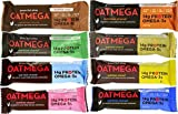 Boundless Nutrition Oatmega Grass-Fed Whey Bars 8 Flavor Variety Pack (Pack of 8) For Sale