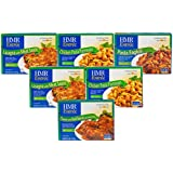 HMR Pasta Lover's 6 Entree Bundle: 1 each of Cheese and Basil Ravioli with Tomato Sauce and Pasta Fagioli, 2 each of Chicken Pasta Parmesan and Lasagna with Meat Sauce, 8 oz serving (6 Count)