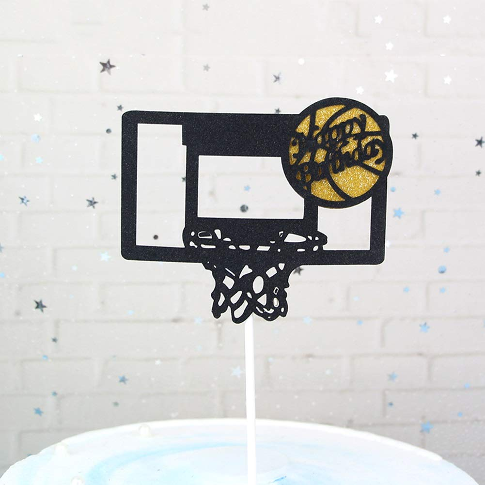 MMD Birthday cake topper cake decoration holiday party dessert basketball flags flags