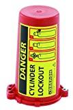 Oberon LOTO-GCYLDR-6 Gas Cylinder Lockout, Red (Pack of 6)