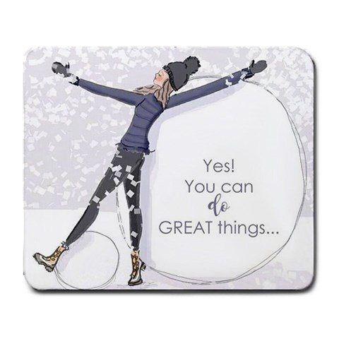 [Positive-thinking Mouse Pad] (Count Gothic Costumes)