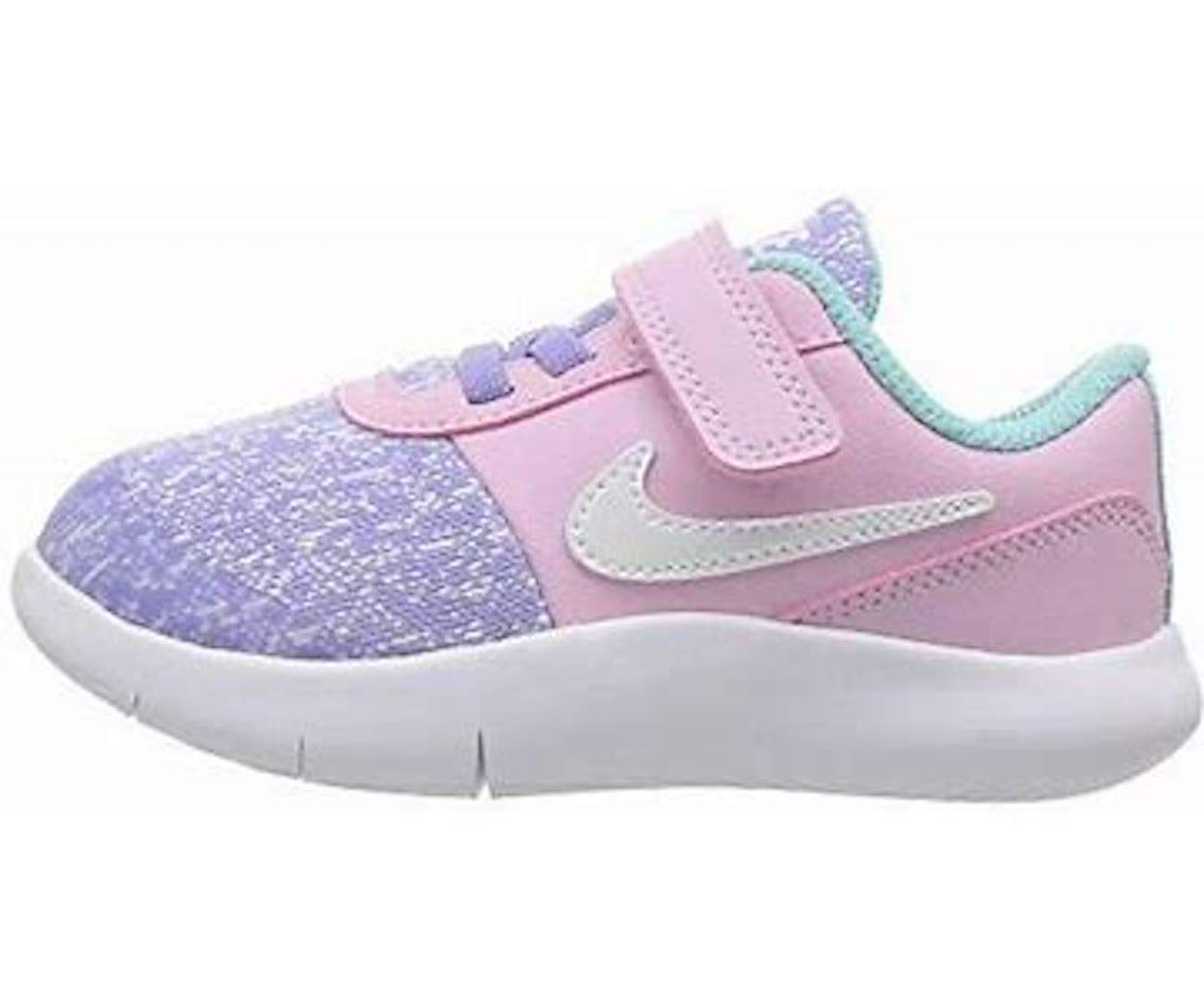 Nike Girls 4-10 Flex Contact Unicorn Sneakers (10M Toddler, Ocnbls/White)