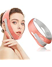 Gezichtsafslankband, Facial Weight Lose Apparaat Dubbele kin Lifting Riem, V Line Face Lifting Belt Dubbele Chin Reducer, voor Anti Rimpel Elimineert Sagging Anti Aging Ademend Face Shaper Band (Roze)
