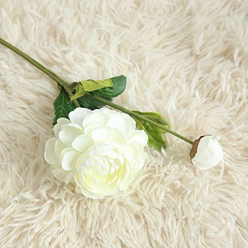 Weiliru Artificial Silk Fake Flowers Daisy Lotus Wedding Bouquet Party Home Decor from Weiliru