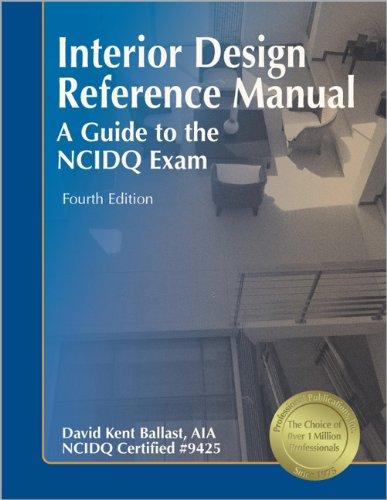 interior design reference manual a guide to the ncidq exam david rh amazon ca Interior Design PDF Leather and Wood Interior Designs
