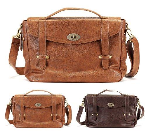 Tamaris Handtasche Business Bag Schultertasche 2 Farben Mocca