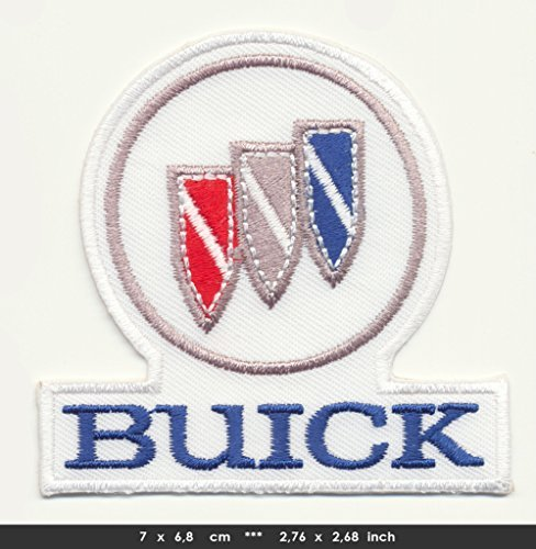 (BUICK Iron Sew On Cotton Patch Cars Encore Lacrosse Verano Enclave USA by RSPS Embroidery n)