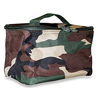 acddd814777 60%OFF Ever Moda Camo Travel Makeup Bag - culicoverbrushes.com