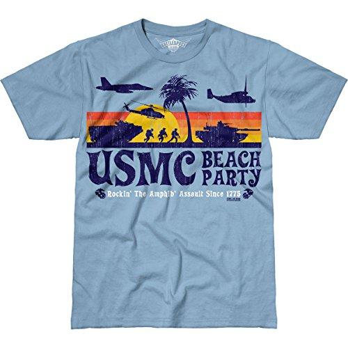 7.62 Design USMC 'Beach Party' Men's Battlespace T-Shirt XL